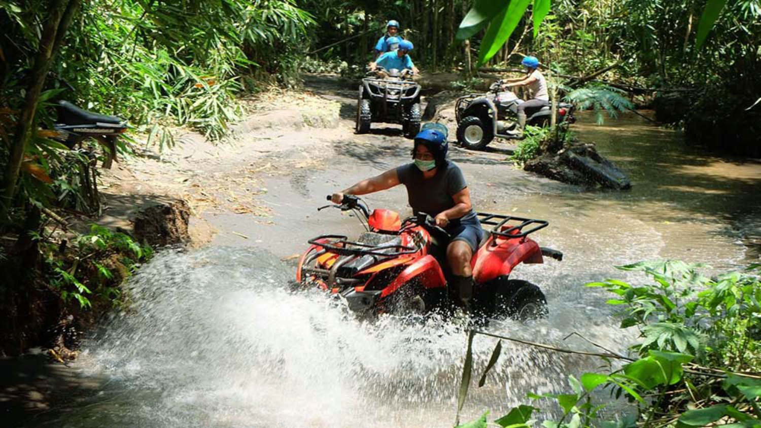 Bali Quad Bike Adventure Jungle and Temple (with Lunch)