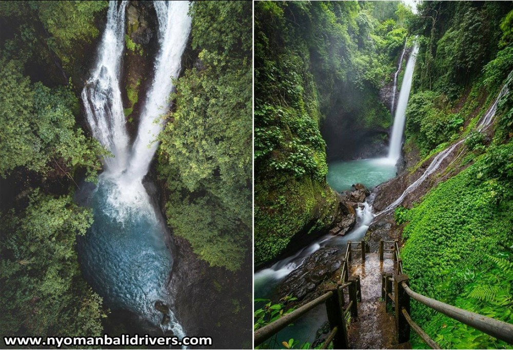 Bali Transport Service with Driver to Aling Aling Waterfall North