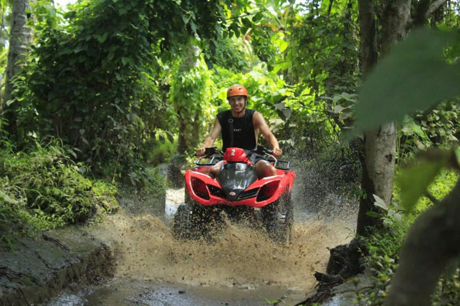 Bali Tandem Atv Adventure with Challenging Route in Ubud