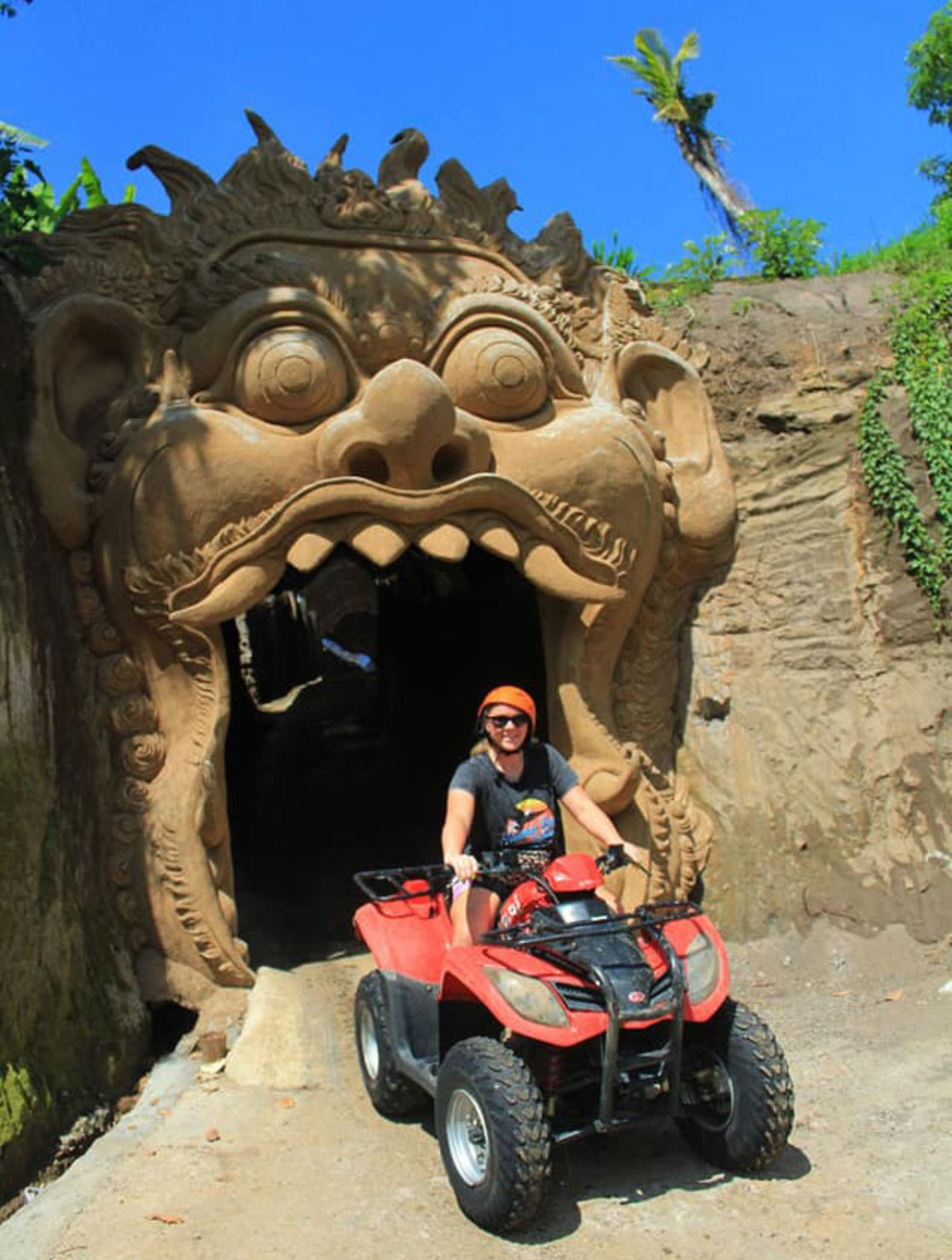 Cave Route in Quad Bike Bali Adventure