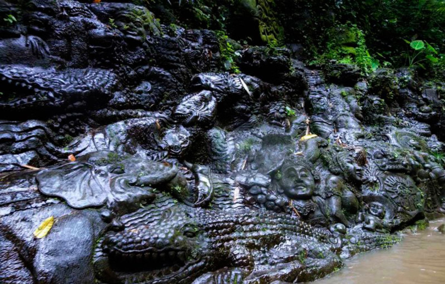 Stone Carving Art Ayung River