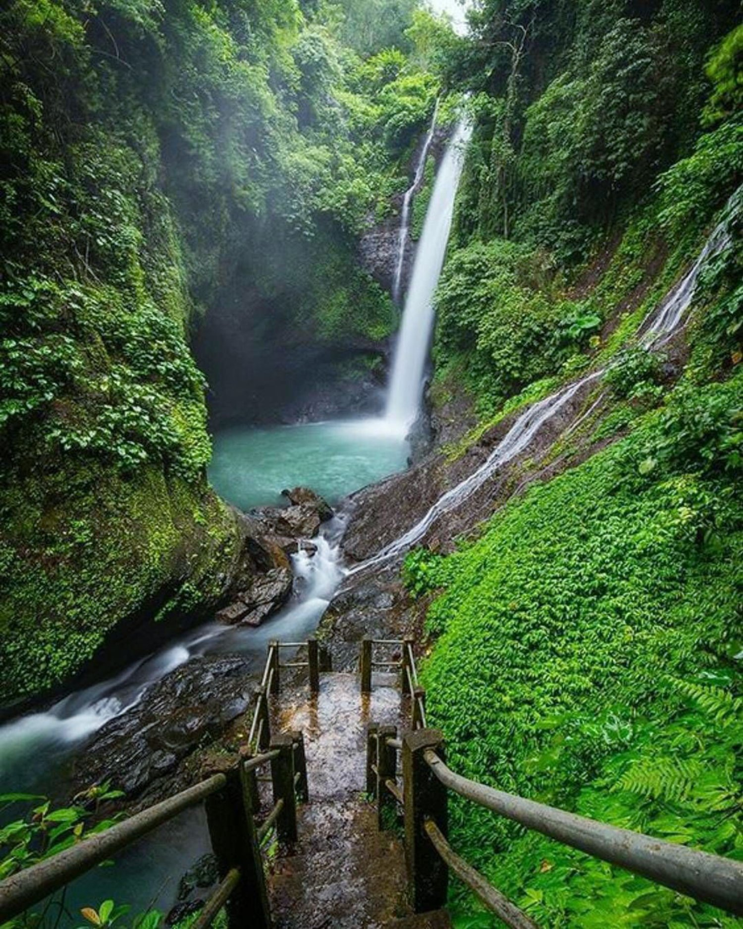 Fabulous Waterfall in Hidden Place of North Bali